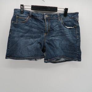 Arizona Women's Blue Jean Shorts Size 15